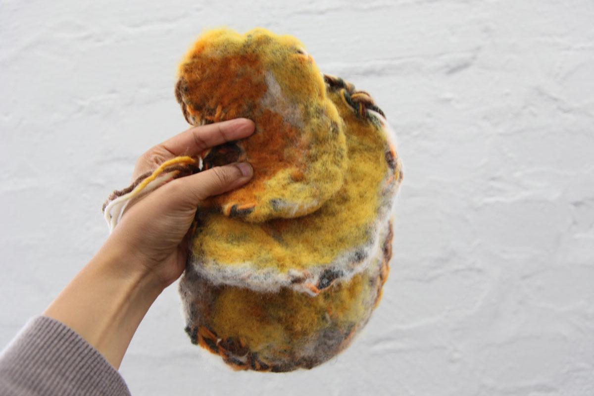 Felted Mushroom Sensors